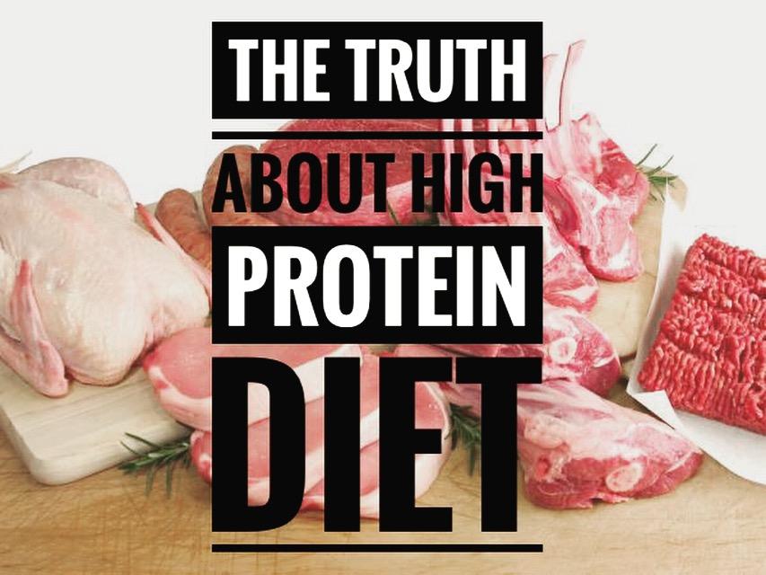 Igazság a magas fehérjetartalmú diétáról