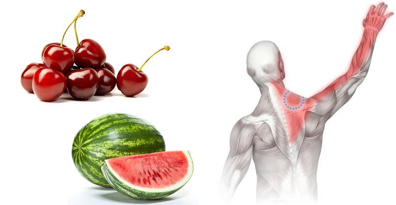 Nyári gyümölcsökkel az izomláz ellen? Igen, lehetséges!