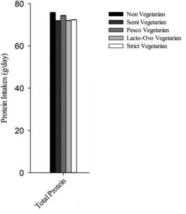 fehérjefogyasztás vegetáriánus és vegán csoportokban