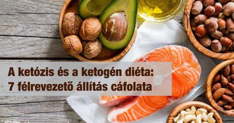 A ketózis és a ketogén diéta: 7 félrevezető állítás cáfolata